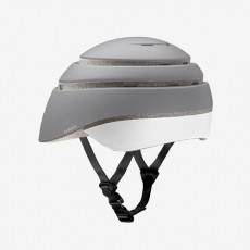 Closca Loop Helm grijs - Inklapbare Design Fietshelm EN1078 - Skatting - step - monowheel
