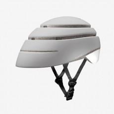 Closca Loop Helm wit/wit- Inklapbare Design Fietshelm EN1078 - Skatting - step - monowheel