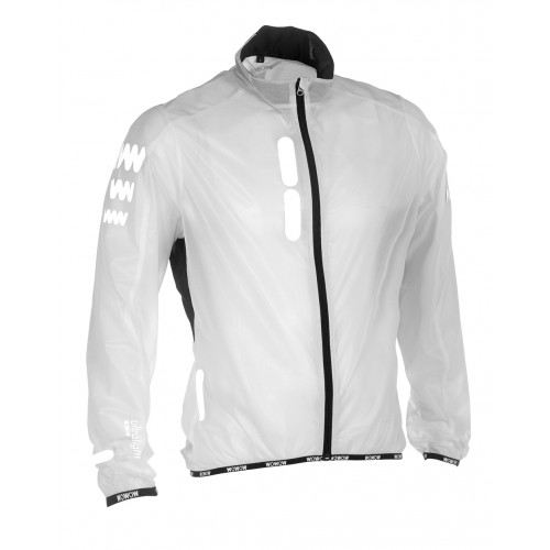Reflecterende compacte fietsjas waterdicht - WOWOW Ultralight Jacket Supersafe