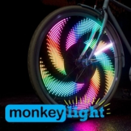 Monkey light M232R - USB oplaadbaar