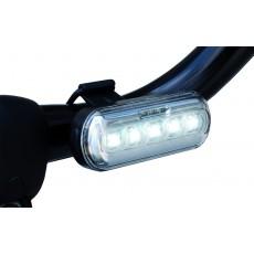 Fietsverlichting wit - led / USB oplaadbaar (Wo255)