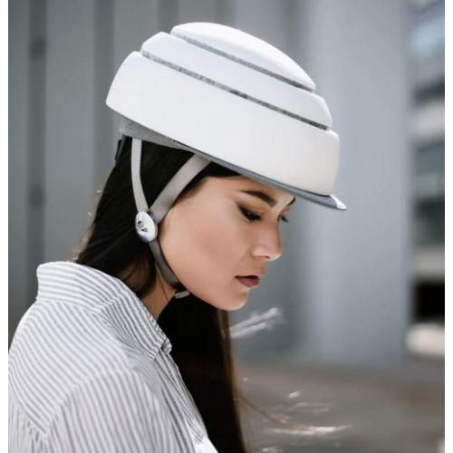 Closca Classic Fuga Wit Design Helm - Inklapbaar - EN1078