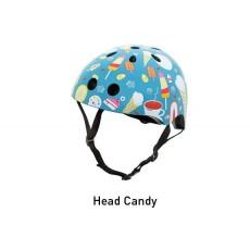 Hornit Fietshelm met achterlicht candy kind - volwassenen