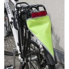 WOWOW fietsvlag - set van 5 fluo gele fietsvlaggetjes