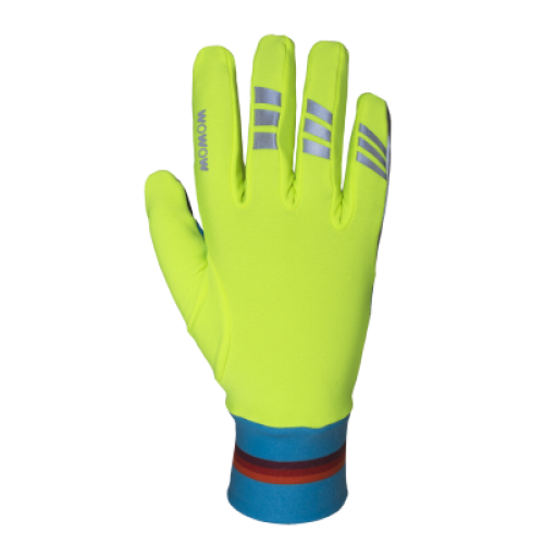 WOWOW Lucy gloves - Fluorescerende handschoenen Running and biking