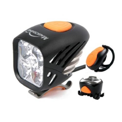 Magicshine Set Voorlicht + achterlicht Fiets - MJ 906 Combo - 5000 lumen