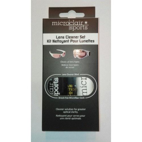 Microclair Set Reinigingsvloeistof bril + microvezeldoekje Sports Lens cleaner