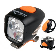 Magicshine MJ-902 - Front 2000 Lumen LED and Rear 50 Lumen Light Set