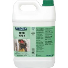 Nikwax Tech Wash 5 Liter - wasproduct voor technische regenkledij
