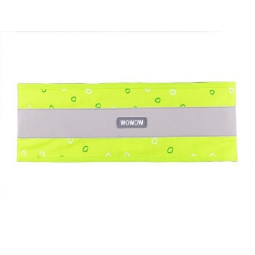 Nutty Wrap it WOWOW - Multifunctionele Reflecterende band - Groen