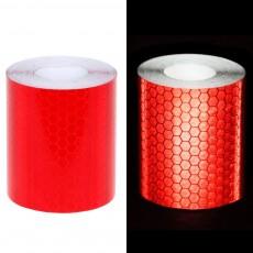 Reflecterende Tape klasse I:  1 x rode rol (5cm x 300cm)