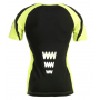 Reflecterende sport T-shirt - DARK SHIRT 1.0