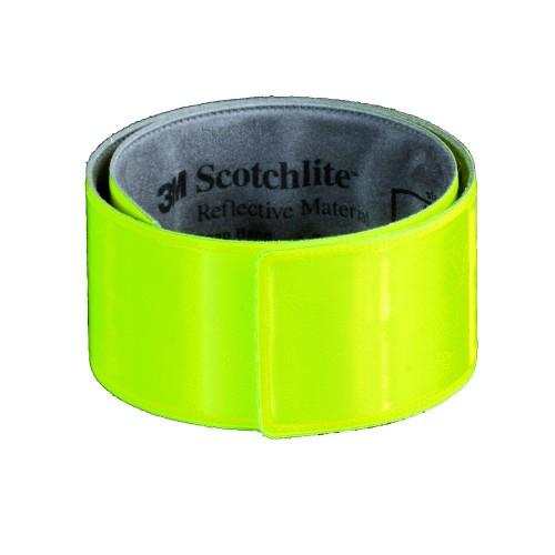 Zelfoprollende fluorescerende armband - snap wrap