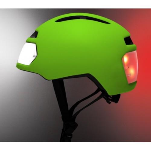 Torch T2 - fietshelm met geïntegreerd LED voor- en achterlichten