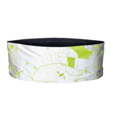 Wrap it City Map WOWOW - Multifunctionele Reflecterende band